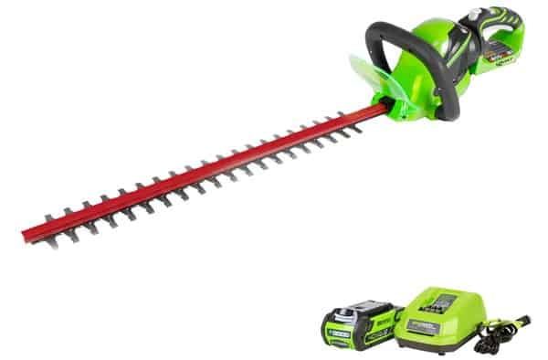 Greenworks 22262 Battery Powered Hedge Trimmer