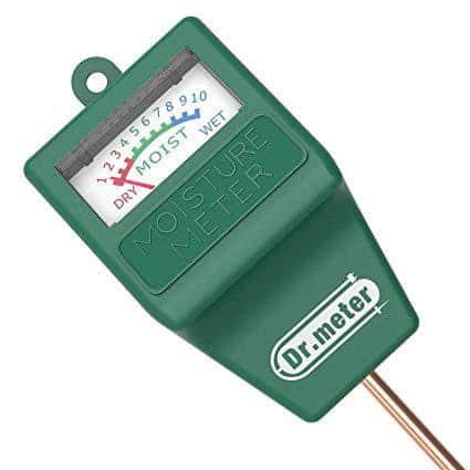 Dr.Meter S10 Soil Moisture Sensor Meter, Hygrometer Moisture Sensor