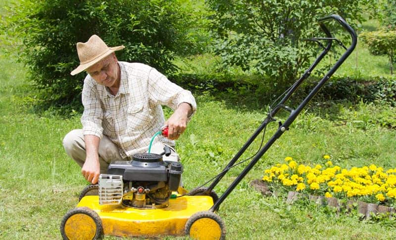 What Kinds of Oil Should I Put In My Lawn Mower