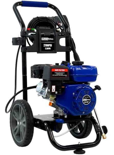Duromax XP2700PWS 2.3 GPM 5 HP Pressure Washer