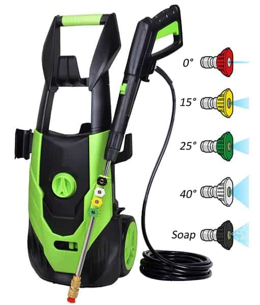 PowRyte 2000PSI Electric Pressure Washer