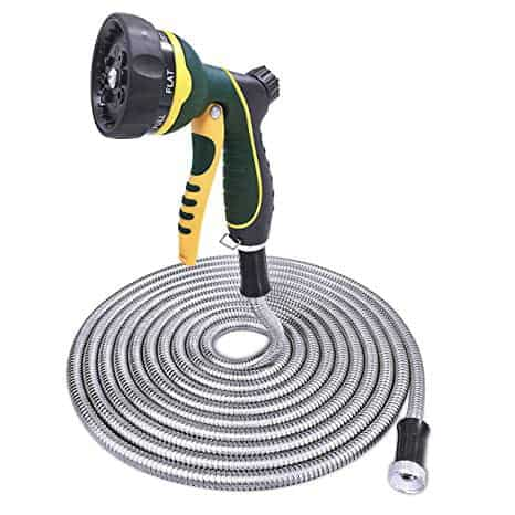 TheFitLife Metal (Stainless Steel) Garden Hose