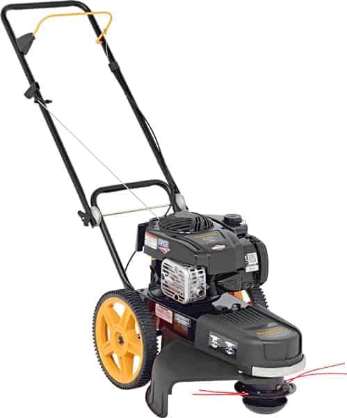 Poulan Pro 190 cc High Wheel Lawn Trimmer Mower