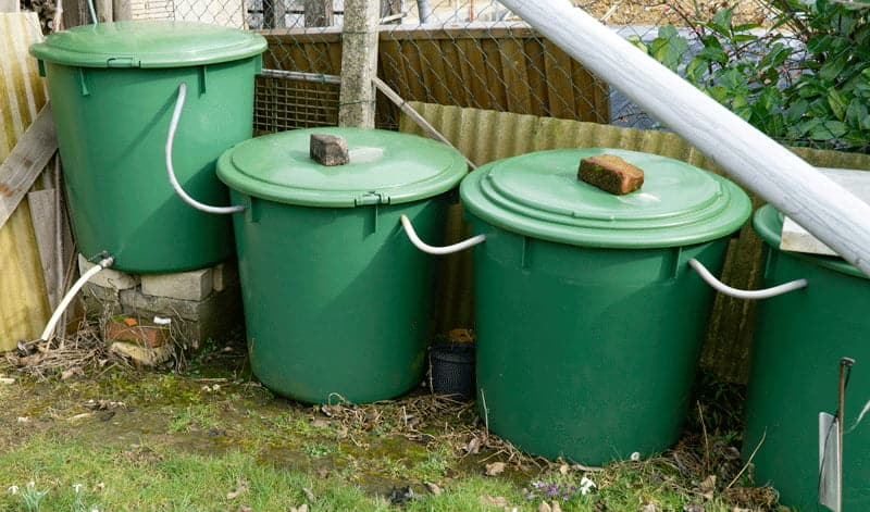 How To Connect Two Rain Barrels In Series