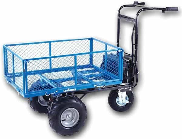 Landworks Powered Utility Cart Hand