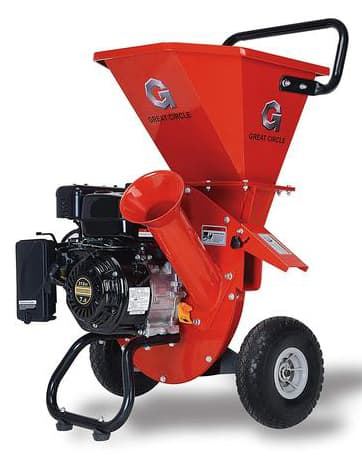GreatCircleUSA LCE01 7HP Heavy Duty Chipper Shredder