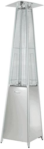 Hiland HLDS01-GTSS Quartz Glass Tube Patio Heater