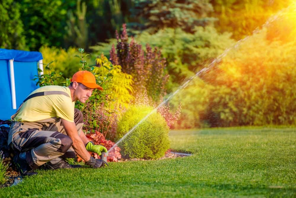 Professional Sprinkler Install