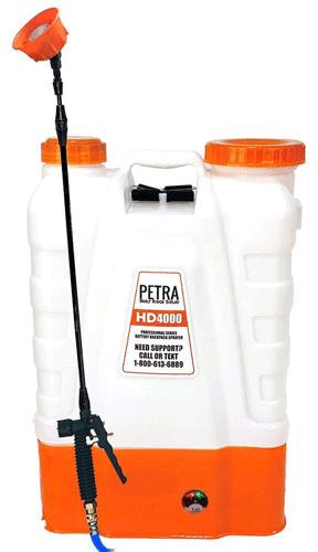 PETRA-HD4000 Backpack Sprayer